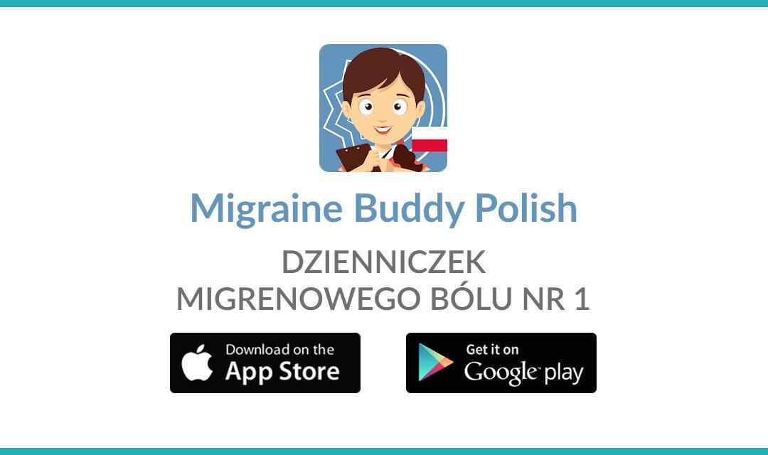 Migraine Buddy Polish – dzienniczek migrenowego bólu nr 1